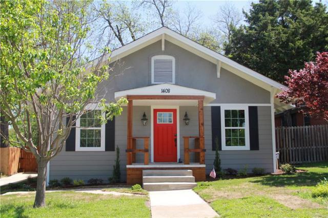 1408 S Clinton Avenue, Dallas, TX 75224 (MLS #14064827) :: Team Hodnett