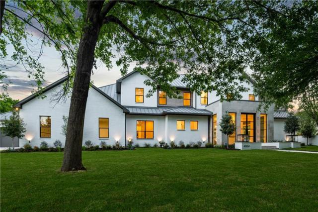 4304 N Cresthaven Road, Dallas, TX 75209 (MLS #14064978) :: RE/MAX Town & Country