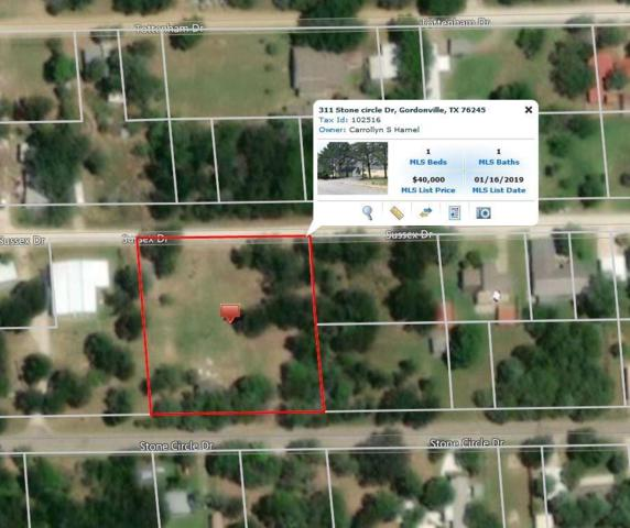 311 Stone Circle Drive, Gordonville, TX 76245 (MLS #14070096) :: RE/MAX Town & Country
