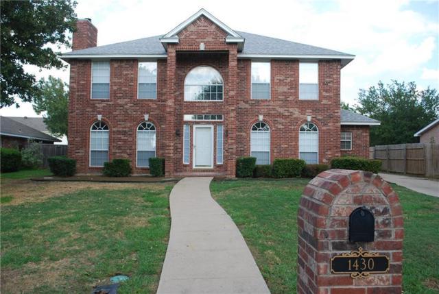 1430 New Haven Drive, Mansfield, TX 76063 (MLS #14071431) :: Tenesha Lusk Realty Group