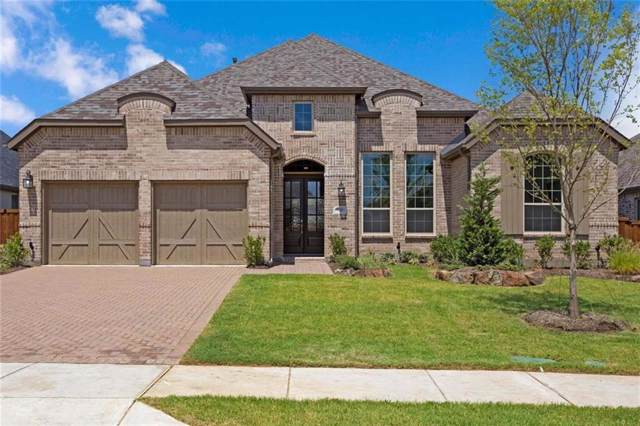 1950 Foxglen Drive, Prosper, TX 75078 (MLS #14071541) :: Real Estate By Design
