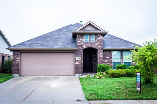 1240 Woodbine Cliff Drive, Fort Worth, TX 76179 (MLS #14071750) :: The Hornburg Real Estate Group