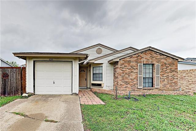 4209 Spindletree Lane, Fort Worth, TX 76137 (MLS #14075077) :: The Hornburg Real Estate Group