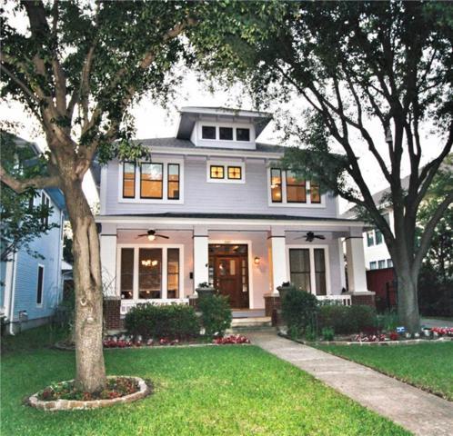 5007 Reiger Avenue, Dallas, TX 75214 (MLS #14075449) :: Van Poole Properties Group