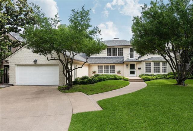 5345 Nakoma Drive, Dallas, TX 75209 (MLS #14076072) :: The Kimberly Davis Group