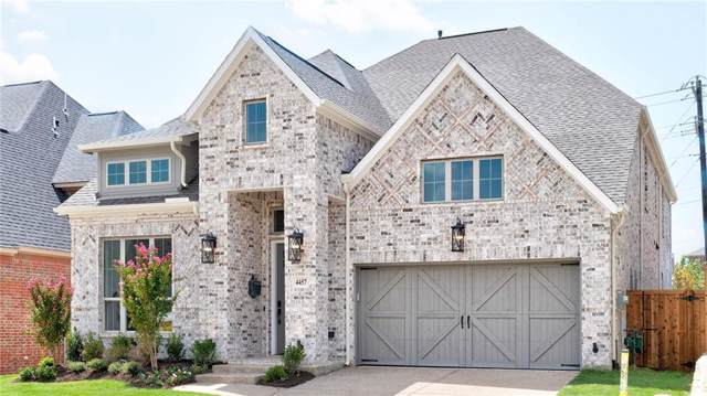 4457 Tall Knight Lane, Carrollton, TX 75010 (MLS #14077594) :: Baldree Home Team