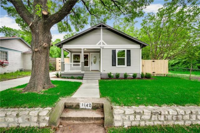 1142 W Clarendon Drive, Dallas, TX 75208 (MLS #14079446) :: RE/MAX Town & Country