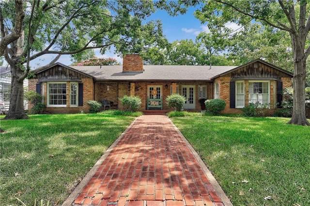 1315 Preston Drive, Sherman, TX 75092 (MLS #14079621) :: Lynn Wilson with Keller Williams DFW/Southlake