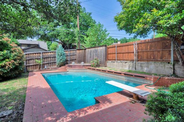 9805 Estate Lane, Dallas, TX 75238 (MLS #14082723) :: The Hornburg Real Estate Group
