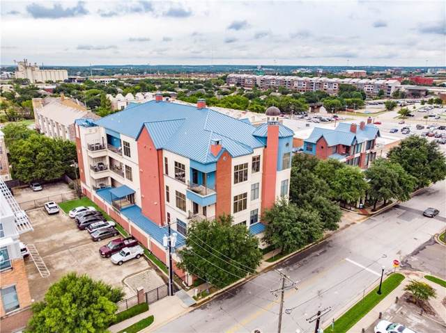 601 E 1st Street #320, Fort Worth, TX 76102 (MLS #14085819) :: RE/MAX Landmark
