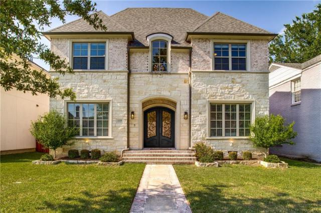4328 Druid Lane, University Park, TX 75205 (MLS #14089792) :: Camacho Homes