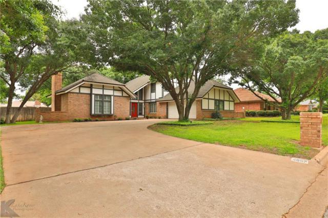 4657 Catclaw Drive, Abilene, TX 79606 (MLS #14092565) :: Robbins Real Estate Group