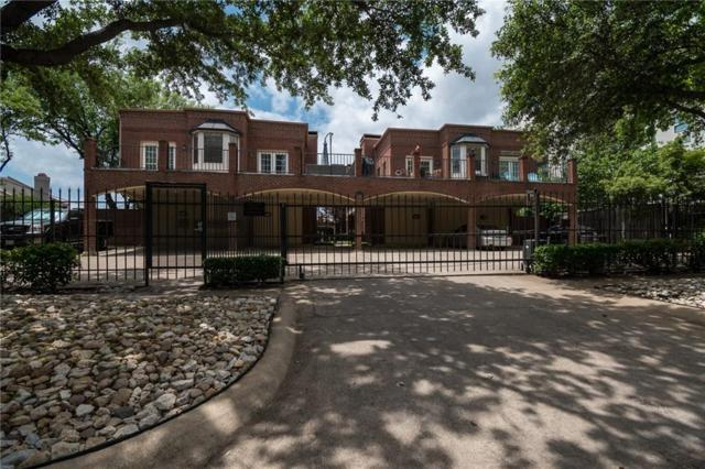 4405 Bowser Avenue #201, Dallas, TX 75219 (MLS #14094561) :: Team Hodnett