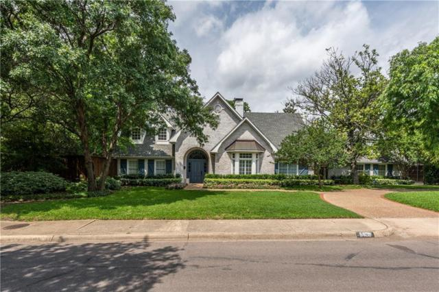 9909 Edgemere Road, Dallas, TX 75230 (MLS #14099292) :: Robbins Real Estate Group