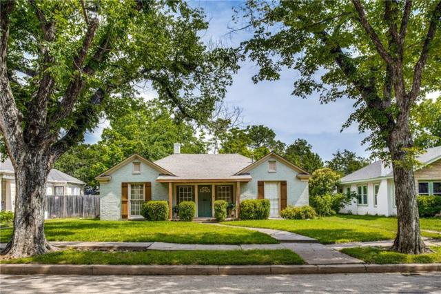 2505 Marigold Avenue, Fort Worth, TX 76111 (MLS #14100616) :: RE/MAX Town & Country