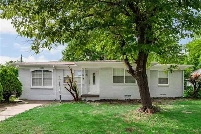 1503 Hillcrest Street, Mesquite, TX 75149 (MLS #14100939) :: Lynn Wilson with Keller Williams DFW/Southlake