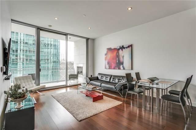 2900 Mckinnon Street #802, Dallas, TX 75201 (MLS #14101785) :: The Hornburg Real Estate Group