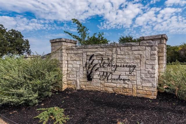 Lot 30 Willow Tree Lane, Pottsboro, TX 75076 (MLS #14102079) :: The Real Estate Station