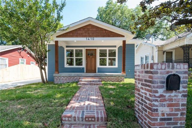 1410 E 9th Street, Dallas, TX 75203 (MLS #14104936) :: The Heyl Group at Keller Williams