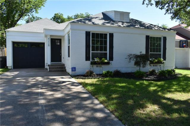 4228 Donnelly Avenue, Fort Worth, TX 76107 (MLS #14108135) :: The Mitchell Group