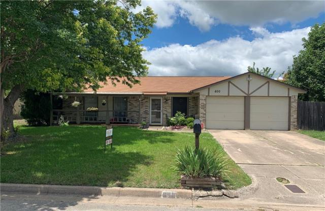 600 Panay Way Drive, Fort Worth, TX 76108 (MLS #14108972) :: RE/MAX Town & Country