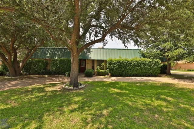 1281 Kingsbury Road, Abilene, TX 79602 (MLS #14109654) :: Vibrant Real Estate