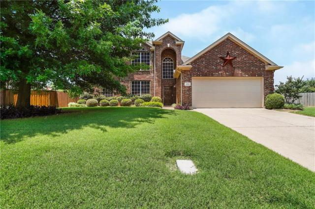 205 Moss Court, Mansfield, TX 76063 (MLS #14115925) :: The Heyl Group at Keller Williams