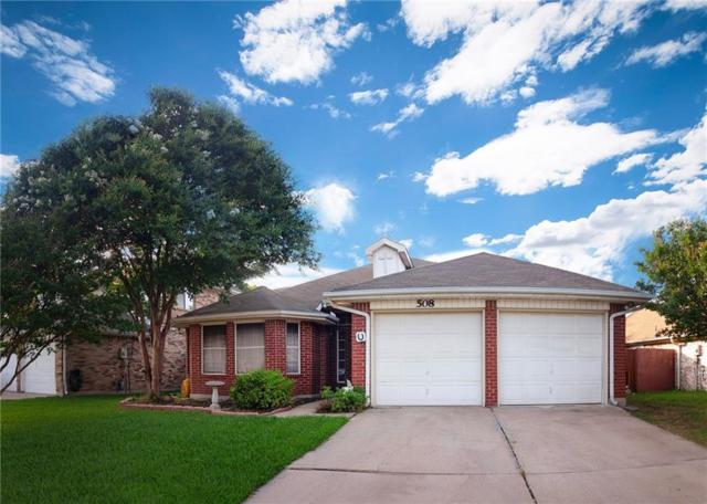508 Woodacre Drive, Grand Prairie, TX 75052 (MLS #14118002) :: Lynn Wilson with Keller Williams DFW/Southlake