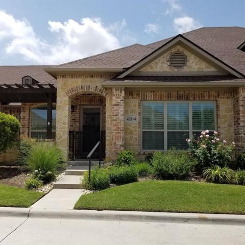 3075 Willow Grove Boulevard #4104, Mckinney, TX 75070 (MLS #14121158) :: Team Hodnett