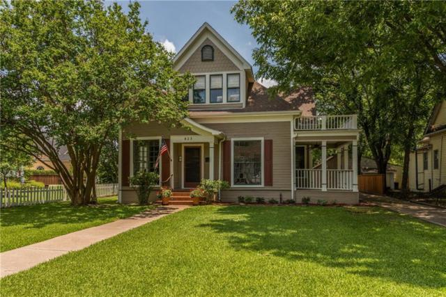 823 S Crockett Street, Sherman, TX 75090 (MLS #14122082) :: RE/MAX Town & Country