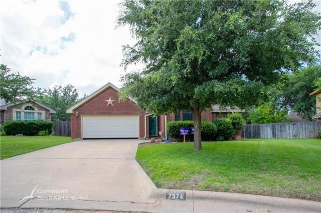 7574 Ruby Esther Circle, Abilene, TX 79606 (MLS #14123838) :: The Tierny Jordan Network