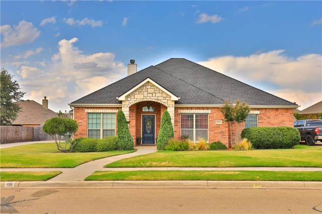 510 Lone Star Drive, Abilene, TX 79602 (MLS #14124026) :: Kimberly Davis & Associates