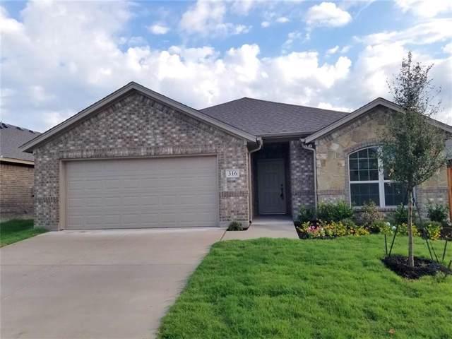 316 Crescent Creek Lane, Fort Worth, TX 76140 (MLS #14124268) :: The Heyl Group at Keller Williams