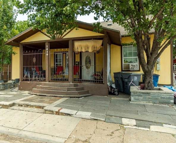 1410 Holly Avenue, Dallas, TX 75204 (MLS #14125350) :: The Mitchell Group