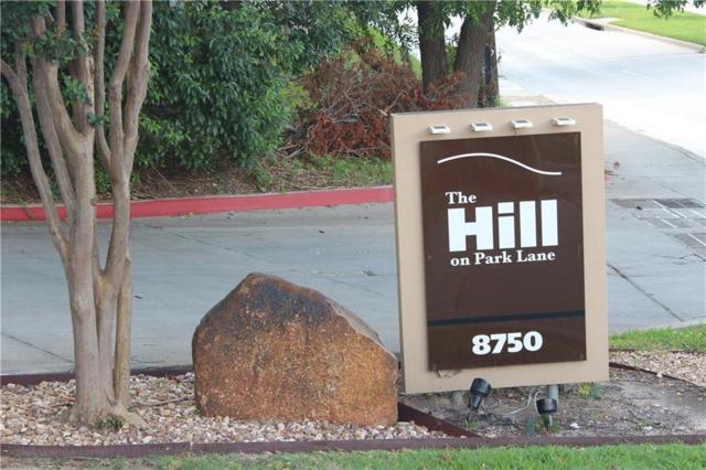 8750 Park Lane #147, Dallas, TX 75231 (MLS #14125437) :: RE/MAX Town & Country