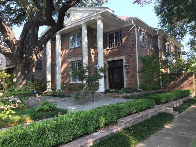 3200 Drexel Drive, Highland Park, TX 75205 (MLS #14126391) :: The Real Estate Station