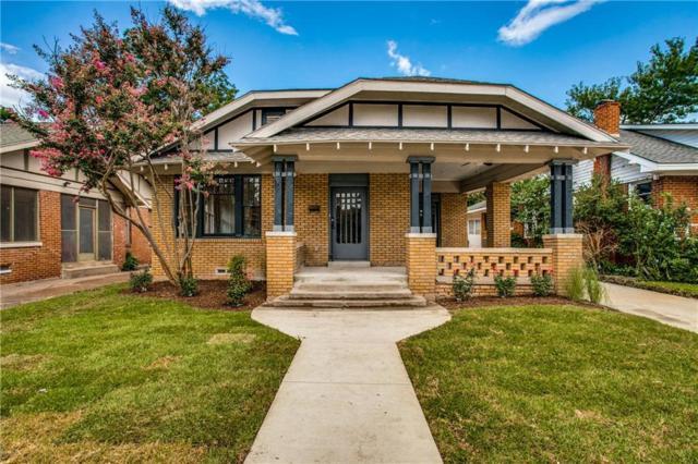 710 Dumas Street, Dallas, TX 75214 (MLS #14128293) :: Van Poole Properties Group