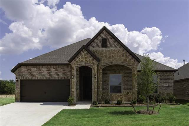 603 Ranchwood Drive, Justin, TX 76247 (MLS #14129052) :: Performance Team