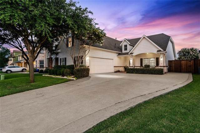 9753 Water Tree Drive, Mckinney, TX 75072 (MLS #14130783) :: RE/MAX Town & Country