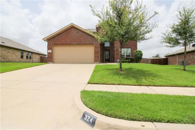 324 Coral Vine Lane, Burleson, TX 76028 (MLS #14131080) :: The Mitchell Group