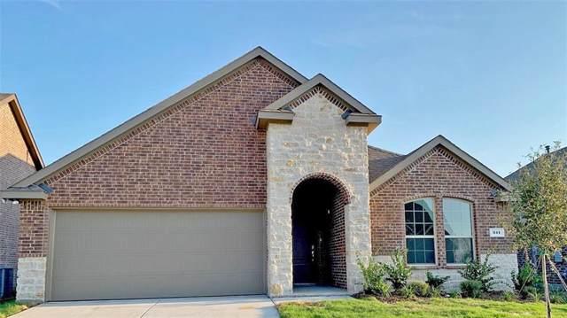341 Burr Lane, Fate, TX 75189 (MLS #14131216) :: RE/MAX Landmark