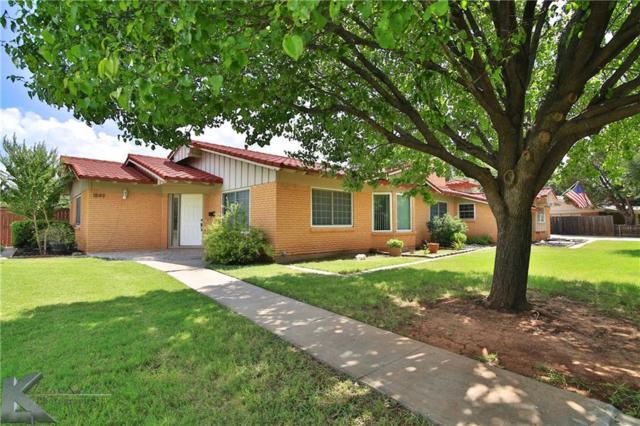 1849 Elmwood Drive, Abilene, TX 79605 (MLS #14131633) :: RE/MAX Town & Country