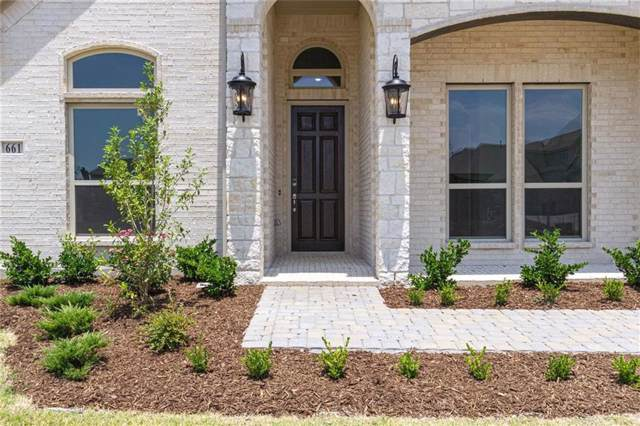 661 Winslow Lane, Prosper, TX 75078 (MLS #14132391) :: RE/MAX Town & Country