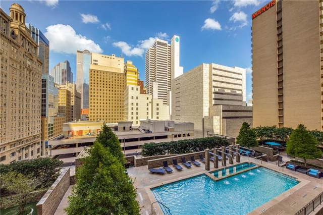 1200 Main Street #810, Dallas, TX 75202 (MLS #14133251) :: The Hornburg Real Estate Group