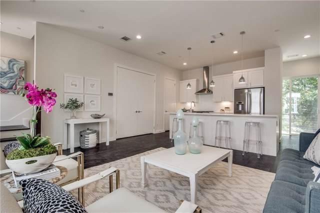 4620 Munger Avenue #104, Dallas, TX 75204 (MLS #14133758) :: Van Poole Properties Group