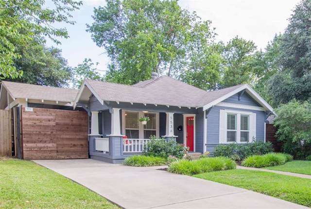 5536 Richard Avenue, Dallas, TX 75206 (MLS #14136954) :: Robbins Real Estate Group