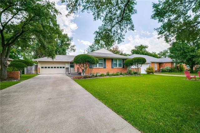 622 Downing Drive, Richardson, TX 75080 (MLS #14137485) :: RE/MAX Town & Country