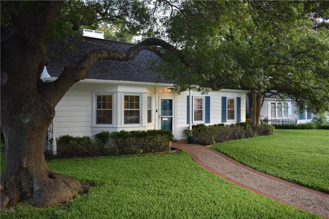 4001 Collinwood Avenue, Fort Worth, TX 76107 (MLS #14137678) :: The Mitchell Group