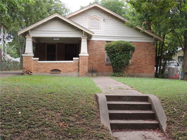 1007 S Montclair Avenue, Dallas, TX 75208 (MLS #14137731) :: Lynn Wilson with Keller Williams DFW/Southlake