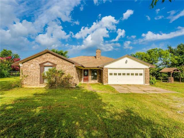 445 Belle Place, Springtown, TX 76082 (MLS #14137994) :: RE/MAX Town & Country